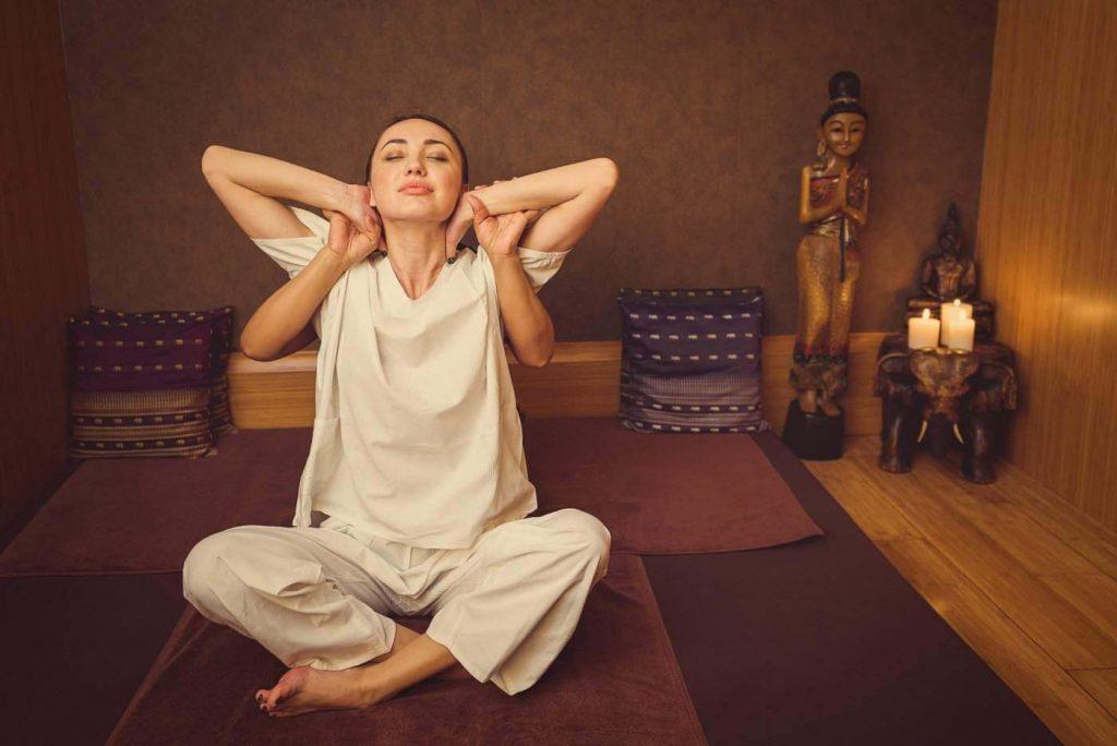 esempio di trazione massaggio tailandese
